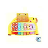 宝丽大象敲敲琴婴儿童宝宝 早教 益智 音乐玩具1-2岁6个月1岁敲琴 音乐玩具