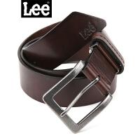 Lee皮带真皮正品男士腰带 针扣 L13850L01C6D时尚百搭真皮皮带