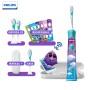 飞利浦(PHILIPS)电动牙刷HX6322/29旅行装 蓝牙版Sonicare For充电式自动声波震动儿童牙刷 配原装收纳盒