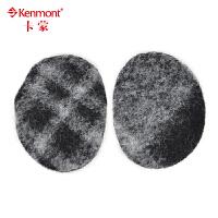 kenmont男士羊毛耳套秋冬天保暖耳罩女韩版潮摇粒绒无间耳包耳暖3942