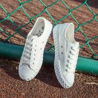 匡王2017夏季新款帆布鞋女韩版学生布鞋低帮休闲鞋平底板鞋百搭女鞋