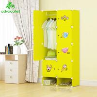 崇尚 环保时尚儿童衣柜简易衣柜收纳柜宝宝玩具收纳储物衣橱大家具