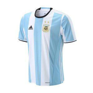 adidas阿迪达斯男装短袖T恤阿根廷主场比赛运动服AH5144