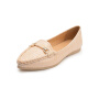富贵鸟时尚套脚休闲女式轻便女单鞋