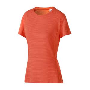 adidas阿迪达斯女装短袖T恤2017新款跑步运动服BQ2201