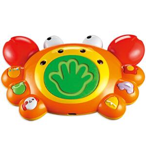 Auby澳贝 小蟹 蜗牛 好问爬行 螃蟹 幼儿宝宝早教益智学爬行玩具