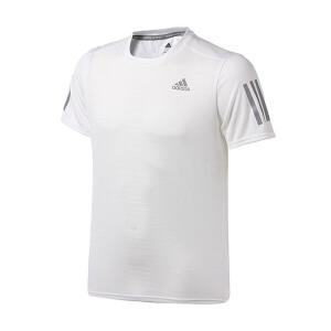 adidas阿迪达斯男装短袖T恤2017新款跑步运动服BR2455