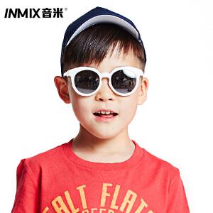 音米2016新款TR90超轻儿童太阳镜 男女防紫外线宝宝遮阳墨镜儿童镜 AAYATY312