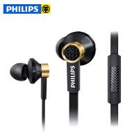 Philips/飞利浦 TX2 耳机入耳式 重低音线控手机通用音乐 唱歌耳机  音乐耳机 线控耳麦 三频均衡 封闭式系统