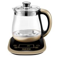奥克斯(AUX)S680 多功能养生壶 煎药壶 电煮茶壶 电水壶 电热水壶 玻璃电热水壶