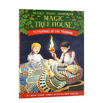 预售 【Magic Tree House, No. 3】Mummies in the Morning