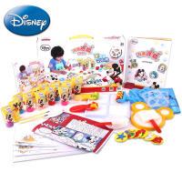【领券立减50元】Disney/迪士尼 涂鸦套装儿童安全无毒颜料可水洗绘画手指画画手工DIY玩具活动专属
