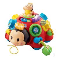 Vtech伟易达 七星宝宝 婴幼儿音乐早教机学习拖拉玩具