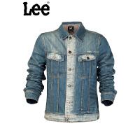 LEE 春季新品时尚男士牛仔长袖夹克L14032D01U26