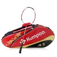 包邮KUMPOO/薰风羽毛球拍包 纪念6支装拍包