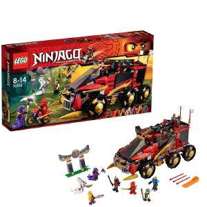 [当当自营]LEGO 乐高 NINJAGO幻影忍者系列 忍者移动指挥所 积木拼插儿童益智玩具 70750