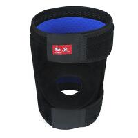 狂迷运动护膝防滑型户外运动 透气登山跑步户外篮球羽毛球护具 单只装