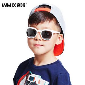 音米儿童墨镜男女防紫外线宝宝眼镜时尚偏光儿童太阳镜2016新款潮  AAYATF311
