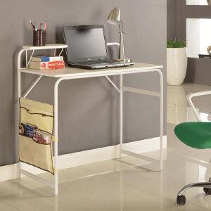 [当当自营]生活诚品 时尚木铁电脑桌CJ46090 简易桌 工作桌