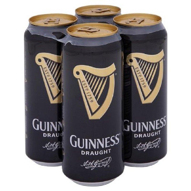 "Guinness 健力士黑啤 440ml*4罐 ""爱尔兰的啤酒之魂""有时候,男人想法很简单 一杯健力士便足够"