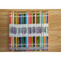 美国进口绘儿乐Crayola 可擦除24色彩色铅笔彩铅无毒涂鸦笔儿童