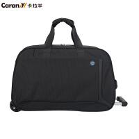 新款卡拉羊拉杆包男女旅行包 行李包旅行袋 旅游登机拉杆箱CS8441