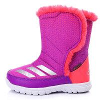 adidas阿迪达斯童冬季新品女婴童0-4岁高帮雪地靴BB3819