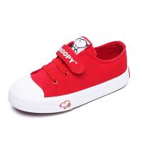 史努比童鞋春新款儿童板鞋宝宝小白鞋
