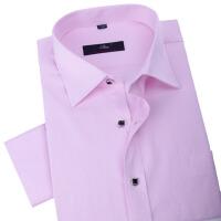 秋冬男式长袖衬衫男衬衫粉色休闲衬衫男士正装西装衬衫