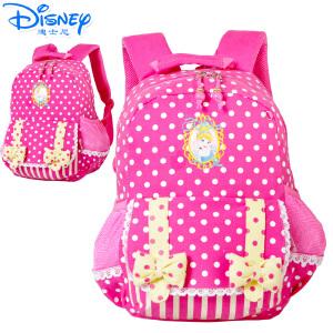 Disney/迪士尼 公主系列幼儿园可爱女童学前班-1年级卡通女生双肩休闲书包PL8070