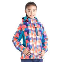 camkids小骆驼 女童冬装外套 儿童冲锋衣亲子装三合一2件套加厚保暖服976312