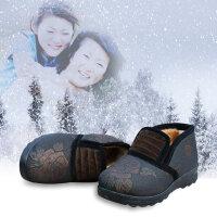 欣清2016冬季新款老北京布鞋女鞋妈妈保暖雪地靴加厚防滑中老年鞋