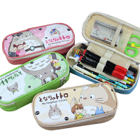 韩国文具多功能简约铅笔袋男女孩初中学生创意韩版文具盒大容量