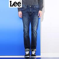 Lee【新款】男士牛仔裤 新年系列2017春夏新品鸡年水洗修身牛仔裤男 709版型 低腰修身小直脚 L11709H462SW