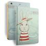 苹果ipad mini mini2保护套卡通ipad mini3保护壳迷你1平板套支架 mini4休眠皮套 卡通支架 超薄