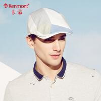 kenmont新款春夏天鸭嘴帽 韩男士鸭舌帽 潮 时尚贝雷帽 男 遮阳帽3210