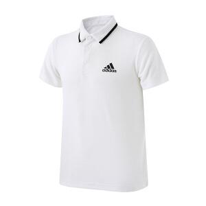adidas阿迪达斯男装短袖POLO翻领T恤2017新款网球运动服BJ8760