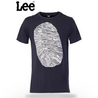 Lee 男士短袖T恤 新款休闲圆领舒适凉爽 棉质T恤 L15144V41B9D