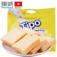 越南进口 友谊牌Tipo鸡蛋奶油面包干300g 进口零食品饼干早餐饼干
