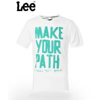 Lee 男士短袖T恤 休闲圆领时尚图案设计 潮流 8826-5Y1D