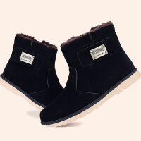 冬季棉鞋抗寒男靴子男士雪地靴加绒保暖高帮休闲男鞋韩版短靴潮工装鞋