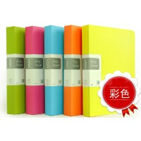 韩国彩色资料册插页文件夹乐谱夹资料夹试卷夹20页 30页 40页 60页A4