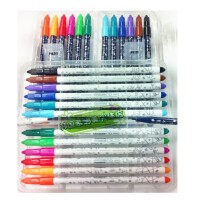 陆捌壹肆 新款韩国慕娜美水彩笔artro4030水性笔绘图笔勾线笔12色套装1.0mm