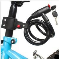 【618年中促】钢丝锁 山地自行车锁  骑行配件 装备
