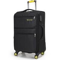 格蓝迪尔 商务休闲款20/24/28寸拉杆箱万向轮大容量登机托运旅行行李箱耐磨防水牛津布