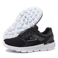 SKECHERS斯凯奇女鞋跑步鞋2017春季轻质网布透气运动鞋14350