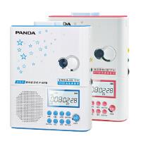 熊猫 F-375复读机磁带线控u盘mp3英语录音机充电锂电池 线控操作 TF/U盘 磁带全能 电锂电池