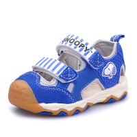 史努比童鞋夏季男女童凉鞋包头机能凉鞋