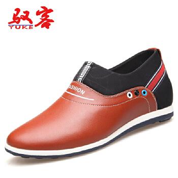 驭客2016秋季男鞋 男士商务休闲鞋内增高户外休闲男鞋P5099