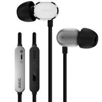爱科技 AKG N20U 入耳式耳机 立体声音乐耳机 手机耳机 苹果安卓双系统切换三键耳机 银色